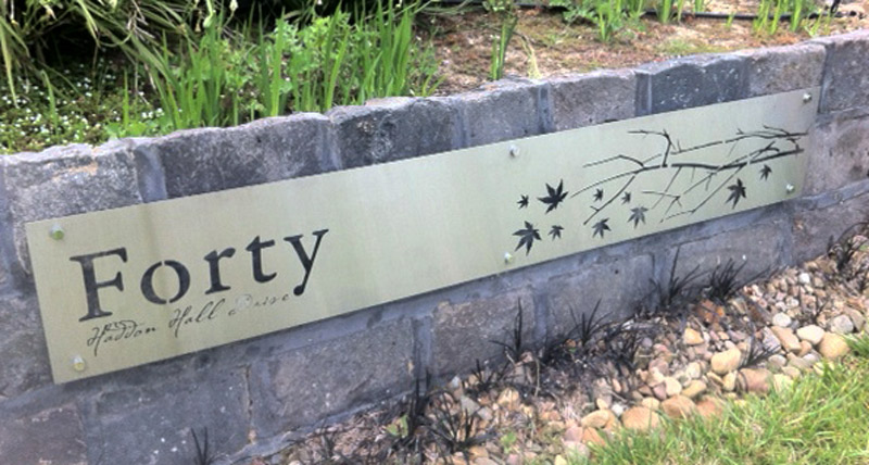 Custom Property Signs