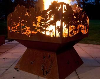 Shroud To Suit Fire Pit Po Box Designs