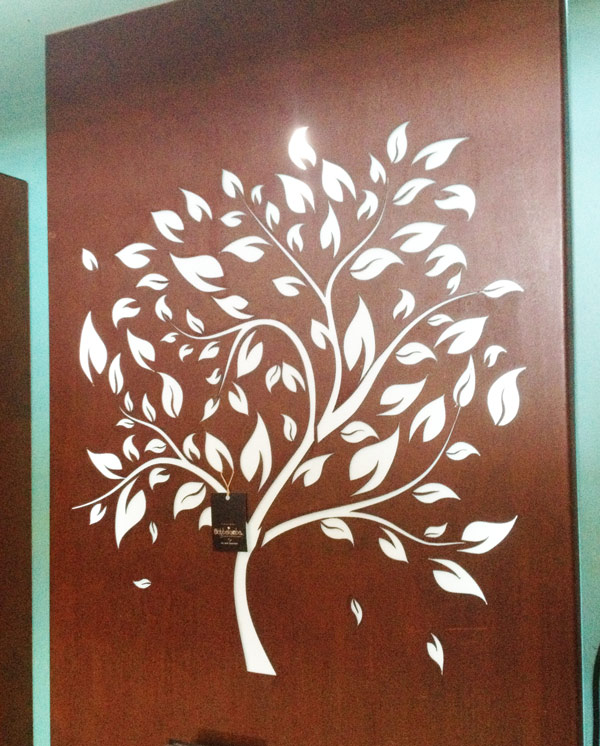 Tree With Scattered Leaves Po Box Designs