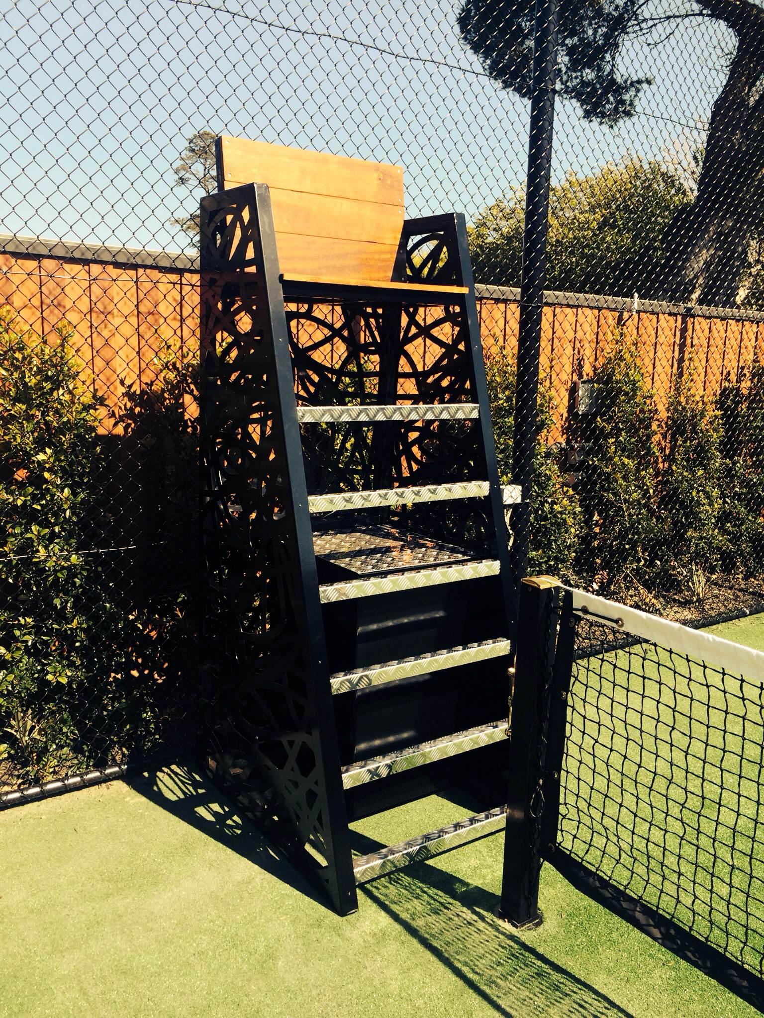 Tennis Court Chairs